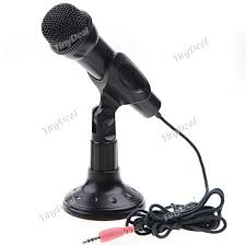 Computer Desk Microphone 8 35 3 5mm Stand Stereo Microphone For Pc Desktop Cmp 152346
