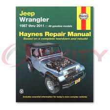 jeep repair manual jeep wrangler haynes repair manual s unlimited base