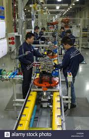 mazda automobile chongqing 2nd apr 2014 workers work at ford motor company in