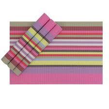 large plastic table mats karateemy placemats set of 4 heat resistant non slip pvc placemat