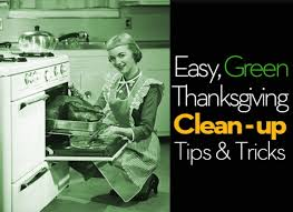 how to green thanksgiving clean up tips curbly
