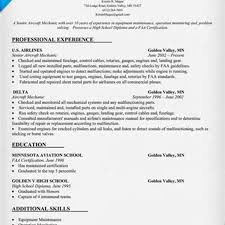 Sample Resume Automotive Technician Aircraft Mechanic Resume Objective Examples