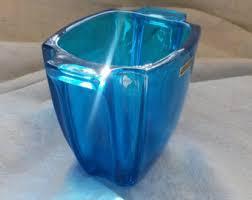 Tiffany Blue Vase Blue Vase Etsy