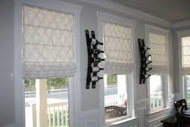 Custom Roman Shades Window Treatments By Melissa