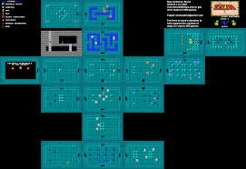 The Legend Of Zelda A Link Between Worlds Map by The Issue With Zelda Maker Poisonmushroom Org