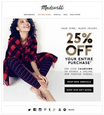 black friday email template top 35 holiday email subject lines to boost open rate in 2016