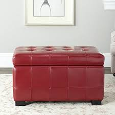 Small Storage Bench Leather Storage Benches