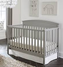 Fixed Side Convertible Crib Graco Benton 5 In 1 Convertible Crib Pebble Gray Baby