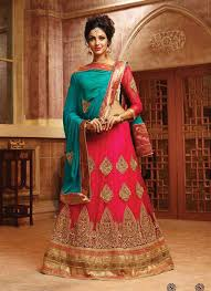 engagement lengha lenghas for engagement party buy online pink designer a line lehenga