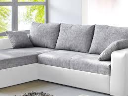 sofa grau weiãÿ ecksofa grau weiß schönheit ecksofa vida 244x174cm sofa