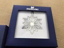 Swarovski Christmas Ornaments Ebay by Swarovski Snowflake Christmas Ornaments Ebay