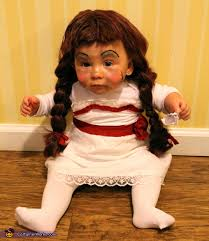 annabelle costume annabelle doll baby costume