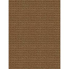 Indoor Outdoor Rug Foss Checkmate Taupe Walnut 6 Ft X 8 Ft Indoor Outdoor Area Rug