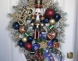 Nutcracker Christmas Tree Decorations by Nutcracker Wreath Etsy