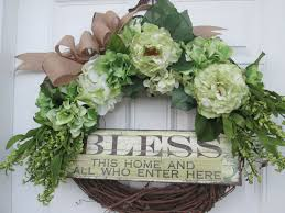 inspirational spring wreath spring wreath spring door wreath