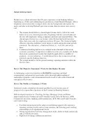 Banker Resume Examples by Resume For Banking Industry Resume For Your Job Application