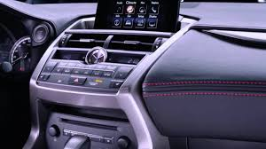 lexus uk nx 200t striking angles the new lexus nx 200t dashboard youtube