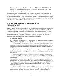 49 cfr hazardous materials table appendix e definitions of hazardous materials model education