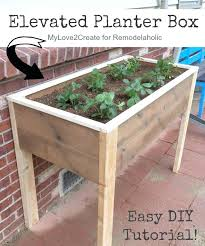 diy garden boxes raised full size of outdoor planter boxes raised