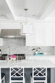 white shaker kitchen cabinets backsplash light gray kitchen backsplash tiles with white shaker