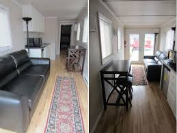shipping container home interiors mods international donates a shipping container home to oklahoma