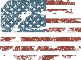 Vintage Flag Art Faded American Flag Clip Art Clipart Collection