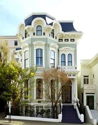 second empire homes asymmetrical townhouse in second empire style victorian second