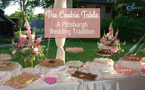 wedding cookie table ideas the pittsburgh cookie table partysavvy pittsburgh pa