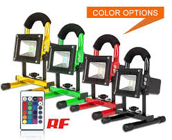 10w rechargeable flood light shenzhen eceo light technology co ltd rgb 10w rechargeable led flood