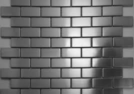 metal wall tiles kitchen backsplash home design ideas metal wall