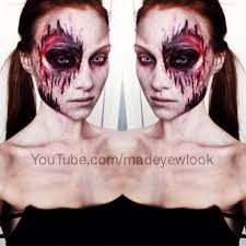 easy latex free mess free zombie makeup tutorial check it out