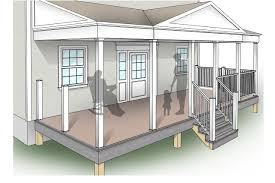 porch building plans porch design plans inteplast building products