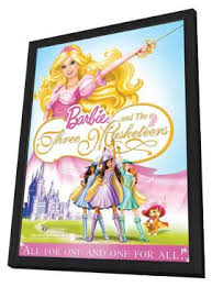 barbie musketeers movie posters movie poster shop