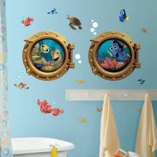 cool and attractive disney toy story themed bathroom decoration breathtaking finding nemo themed bathroom wall decor idea smart