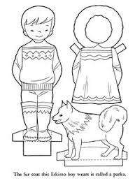 bluebonkers youth activity sheets paper dolls alaska