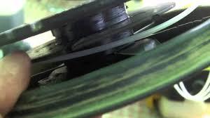 manutenzione di piccoli motori sostituire il cavo del