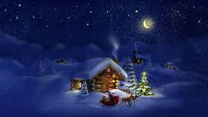 easons winter houses holidays christmas new year deer snow