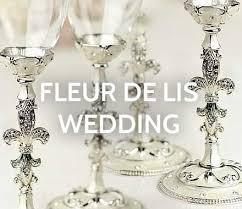 fleur de lis chagne flutes fleur de lis wedding theme idée d image de fleur