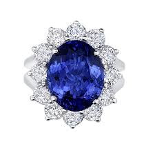 ring diana princess diana ring design in tanzanite diamonds greenleaf