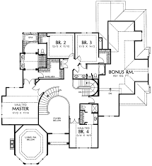 tudor style house plan 4 beds 4 baths 3870 sq ft plan 48 740