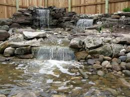 Backyard Waterfall Ideas Pond Waterfalls Uk Backyard