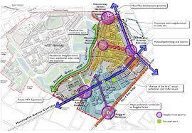 Boston Neighborhood Map by East Fenway Neighborhood Strategic Plan Harriman