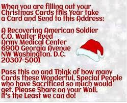 show your gratitude to our wounded soldiers this season