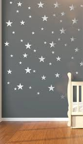 the 25 best star nursery ideas on pinterest nursery themes nursery wall decals wall stickers 120 silver metallic stars nursery wall stickers wall decals wall art vinyl wallpaper home decor