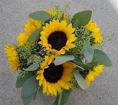 Sunflower Bouquets Bouquet Bridal Sunflower Bouquets