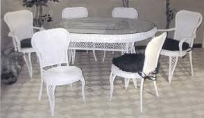 Oval Bistro Table Wicker Side Table Wicker Table And Chairs End Tables