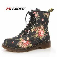 womens boots for fall 2017 aliexpress com buy fashion ankle boots floral 2017 autumn