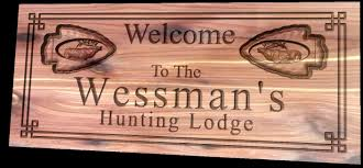 30 unique custom signs for home decor hunting lodge personalized