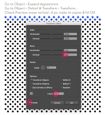 adobe illustrator random pattern create a halftone texture pattern in illustrator veerle s blog 3 0