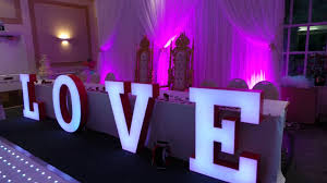 wedding backdrop letters wedding letter hire illuminated letter hire london surrey